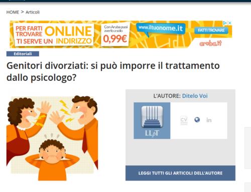 Genitori Divorziati: Si Può Imporre il Trattamento dallo Psicologo?