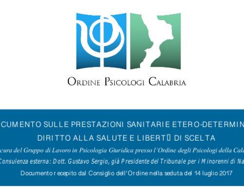 Documento sulle Prestazioni Sanitarie Etero-Determinate: Diritto alla Salute e Libertà di Scelta