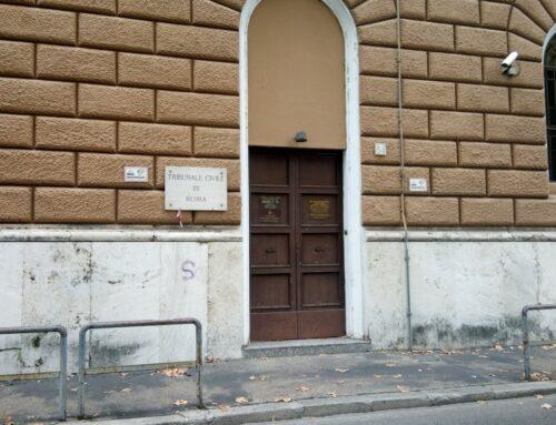 Al Tribunale Civile di Roma abbiamo un problema, forse più di uno