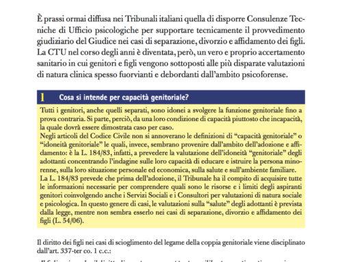 Consulenza Tecnica di Ufficio o Trattamento Sanitario di Ufficio?
