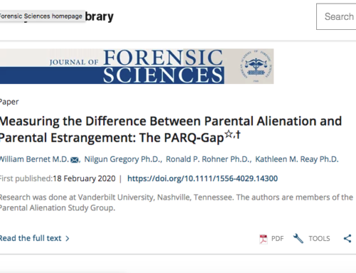 Measuring the Difference between Alienation and Estrangement: The PARQ Gap