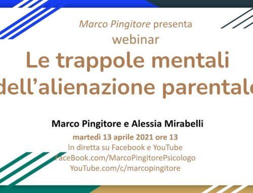 Webinar, Le trappole mentali dell'alienazione parentale